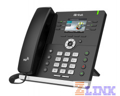 HTek Enterprise HD IP Phone - Gigabit Color IP Phone UC923