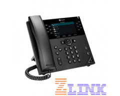 Polycom VVX 450 12-Line High-end Color IP Desktop Phone (2200-48840-025)